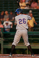 Pedro Zapata #26 of the St. Lucie Mets during a game against the Daytona Cubs at Jackie Robinson Ballpark on May 23, 2011 in Daytona Beach, Florida. (Scott Jontes / Four Seam Images)