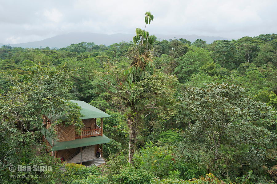 Guest rooms at San Jorge de Milpe Eco-Lodge, Ecuador