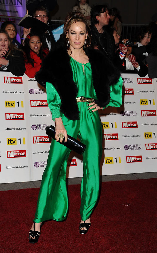 Tpt retro set found dead today <br /> Tara Palmer Tompkinson<br /> arrives for the Pride of Britain Awards 2010 at the Grosvenor House Hotel, Mayfair, London.<br /> <br /> ©Ash Knotek  D2145 08/11/2010