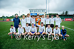 A jubilant Inter Kenmare FC celebrate after capturing the Denny Youth Challenge Cup after their win over Ferry Rangers