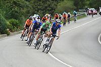 3rd September 2021; Tapia to Monforde de Lemos, Asturias, Spain; stage 19 of Vuelta a Espanya cycling tour;  Deceuninck - Quick Step Jakobsen, Fabio