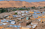 village nubien  sur l ile de Sehel  au pied du barrage d Assouan