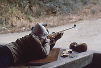 - rifle range in Carrara....- poligono di tiro di Carrara