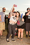May 6, 2016. Concord, North Carolina. <br />  Fan portraits.<br />  The 2016 Carolina Rebellion was held over May 6-8 next to the Charlotte Motor Speedway and featured over 50 bands including headliners Lynyrd Skynyrd, The Scorpions, Five Finger Death Punch, Disturbed, and Rob Zombie.