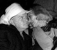 Truman Capote Gloria Swanson 1978<br /> Photo by Adam Scull/PHOTOlink