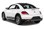 Car pictures of rear three quarter view of 2017 Volkswagen Beetle Dune 3 Door Hatchback Angular Rear