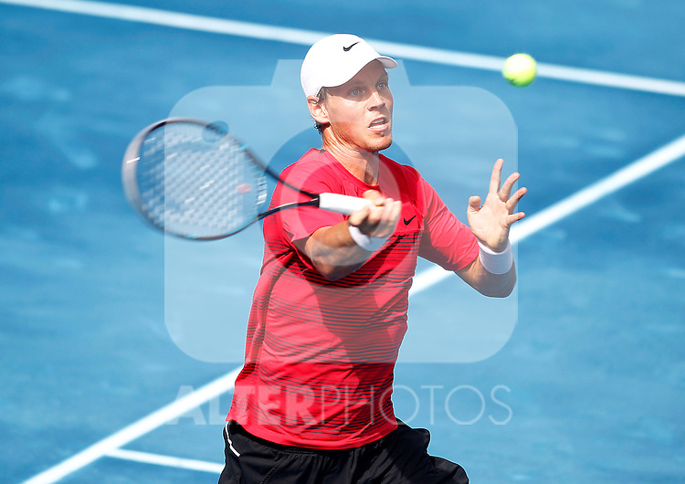 Tomas Berdych during Madrid Open Tennis 2012 Match.May, 12, 2012(ALTERPHOTOS/ALFAQUI/Acero)