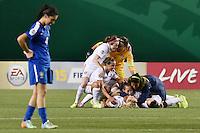 USWNT U-20 vs Brazil, Friday, August 8, 2014