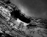 Montezuma Castle Built By Pre-Columbian Sinagua Indians C. 700 AD. Arizona, USA
