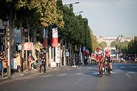 Nils Politt (DEU/Katusha-Alpecin) leading a breakaway up the Champs-Elysées<br /> <br /> Stage 21: Rambouillet to Paris(128km)<br /> 106th Tour de France 2019 (2.UWT)<br /> <br /> ©kramon