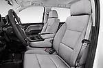 Front seat view of 2018 Chevrolet Silverado-1500 1LS-Crew-Cab-Short-Box 4 Door Pickup Front Seat  car photos
