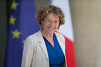 French Labour Minister Muriel Pénicaud leaves the Elysee presidential palace following the weekly cabinet meeting on Wednesday, 28 June 2017 in Paris # CONSEIL DES MINISTRES DU 28/06/2017