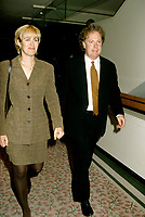 Montreal (Qc) CANADA - Oct 1996- Jean Charest,leader of the federal Progressive Conservative Party of Canada (1993-1998)<br /> and wife Micheline Dionne-Charest