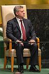 LOS general debate – 27 September<br /> <br /> AM<br /> <br /> His Excellency Gjorge Ivanov, President, the former Yugoslav Republic of Macedonia