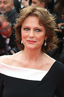 JACQUELINE BISSET - RED CARPET OF THE FILM 'L'AMANT DOUBLE' AT THE 70TH FESTIVAL OF CANNES 2017