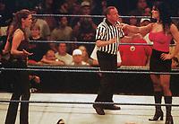 Stephanie McMahon Chyna 1999                                                        Photo By John Barrett/PHOTOlink