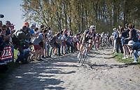 Bert de Backer (BEL/Sunweb)<br /> <br /> 115th Paris-Roubaix 2017 (1.UWT)<br /> One Day Race: Compiègne › Roubaix (257km)