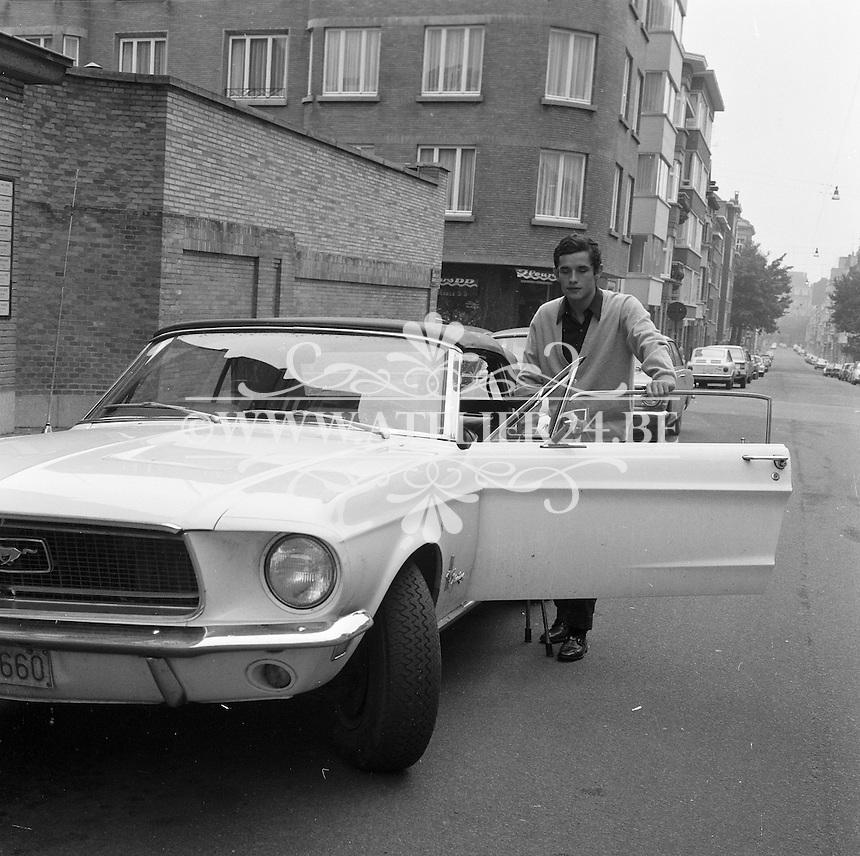 Oktober 1968. Jacky Ickx.