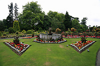Pictured: View of the Botanical Gardens. Friday 07 July 2017<br /> Re: Botanical Gardens in Singleton Park, Swansea, Wales, UK.