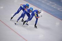 SPEEDSKATING: 24-11-2019 Tomaszów Mazowiecki (POL), ISU World Cup Arena Lodowa, Team Pursuit Men Division A (NOR), ©photo Martin de Jong