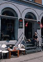 Daenemark, Kopenhagen, Antiquitaetengeschaeft in der Ravensborggade