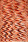 Fatehpur Sikri, Uttar Pradesh. The lost city of Fatehpur Sikri built by Emperor Akbar 16th Century, abandoned 12 years later because of a lack of water supply. Panel detail zigzag.