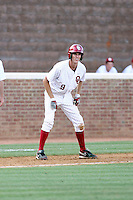 Danny Black of the Oklahoma Sooners playing in Game Two of the NCAA Super Regional tournament against the Virginia Cavaliers at Charlottesville, VA - 06/13/2010. Oklahoma defeated Virginia, 10-7, to tie the series after two games.  Photo By Bill Mitchell / Four Seam Images