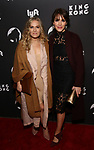 "Lora Lee Gayer and Kelli Barrett attends the Broadway Opening Night of ""King Kong - Alive On Broadway"" at the Broadway Theater on November 8, 2018 in New York City."