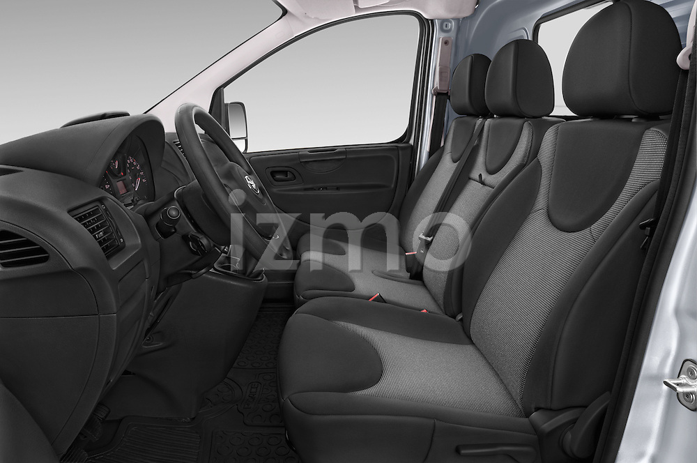 Front seat view of a 2013 Toyota Proace Comfort 5 Door Cargo Van Front Seat car photos