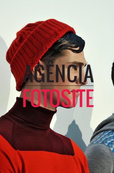 Londres, Inglaterra – 08/01/2014 - Desfile de John Smedley durante a Semana de moda masculina de Londres - Inverno 2014. <br /> Foto: FOTOSITE