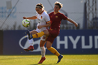 Jade Kovacevic of Roma Cf and Federica Di Criscio of AS Roma compete for the ball during the Women Italy cup round of 8 second leg match between AS Roma and Roma Calcio Femminile at stadio delle tre fontane, Roma, February 20, 2019 <br /> Foto Andrea Staccioli / Insidefoto