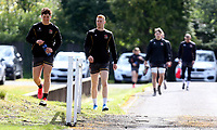 Tuesday 3rd May; Tom Stewart and Nathan Doak<br /> Ulster Rugby Training at Perrie Park, Belfast, Northern Ireland. Photo by John Dickson/Dicksondigital