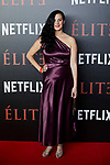 Farah Ahmed attends to 'Elite' premiere at Museo Reina Sofia in Madrid, Spain. October 02, 2018. (ALTERPHOTOS/A. Perez Meca)