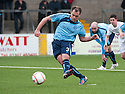 Forfar's Iain Campbell scores their second goal from the spot.