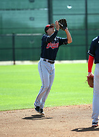 Luke Wakamatsu - Cleveland Indians 2019 spring training (Bill Mitchell)