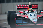 James Jakes (GBR), in his Acorn Stairlifts Dale Coyne Racing car, during practice for the Baltimore Grand Prix in Baltimore, Maryland on September 3, 2011
