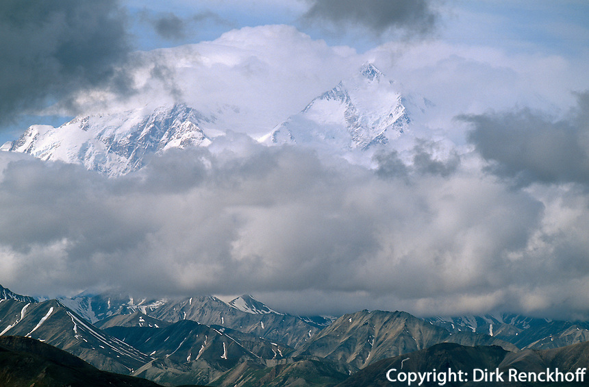 USA, Alaska, Mount Mc Kinley im Denali Nationalpark