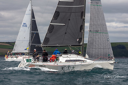 Liam Burke's recently-acquired Farr 31 Tribal from Galway Bay SC