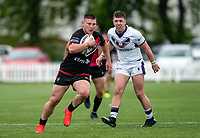 Jacob Jones of London Broncos during the Betfred Championship match between London Broncos and Newcastle Thunder at The Rock, Rosslyn Park, London, England on 9 May 2021. Photo by Liam McAvoy.