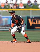 Yolmer Sanchez - San Francisco Giants 2020 spring training (Bill Mitchell)