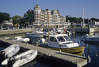 Jamestown, RI.Hotel and Marina on Narraganset Ba