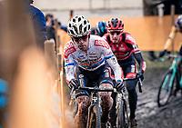 Eli Iserbyt (BEL/Pauwels Sauzen-Bingoal)<br /> <br /> Superprestige Boom (BEL) 2020<br /> Men's Race<br /> <br /> ©kramon