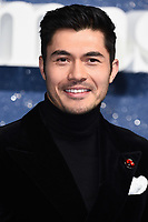 "LONDON, UK. November 11, 2019: Henry Golding arriving for the ""Last Christmas"" premiere at the BFI Southbank, London.<br /> Picture: Steve Vas/Featureflash"