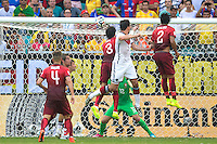 Mats Hummels of Germany scores a goal to make it 2-0