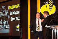 Photo: Richard Lane/Richard Lane Photography. London Wasps End of Season Awards Dinner, 09/05/2012. Wasps' Director of Rugby, Dai Young.