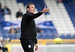 Inverness Caley Thistle v St Johnstone…27.08.16..  Tulloch Stadium  SPFL<br />An unhappy Tommy Wright has a go at his players<br />Picture by Graeme Hart.<br />Copyright Perthshire Picture Agency<br />Tel: 01738 623350  Mobile: 07990 594431