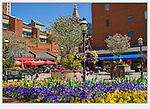 "Just off the 16th Street Mall is Writer Square. From John's 5th book: ""Denver Colorado: A Photographic Portrait."" <br />