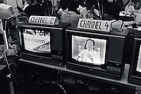 Janary and February 1986 were memorable days in the Philippines. The fall of dictator Ferdinand Marcos and the rise of the first so called democraticly chosen President Cory Aquino. Helped by the massive public support of People Power. Marcos on local tv just before he got cut off.