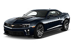 2015 Chevrolet Camaro ZL1 Coupe 2 Door  Angular Front stock photos of front three quarter view