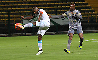 BOGOTA -COLOMBIA, 21-04-2017.   Action game between  Tigres FC  and Jaguares FC during match for the date 14 of the Aguila League I 2017 played at Metropolitano de Techo stadium . Photo:VizzorImage / Felipe Caicedo  / Staff